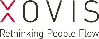 Logo XOVIS – Rethinking People Flow